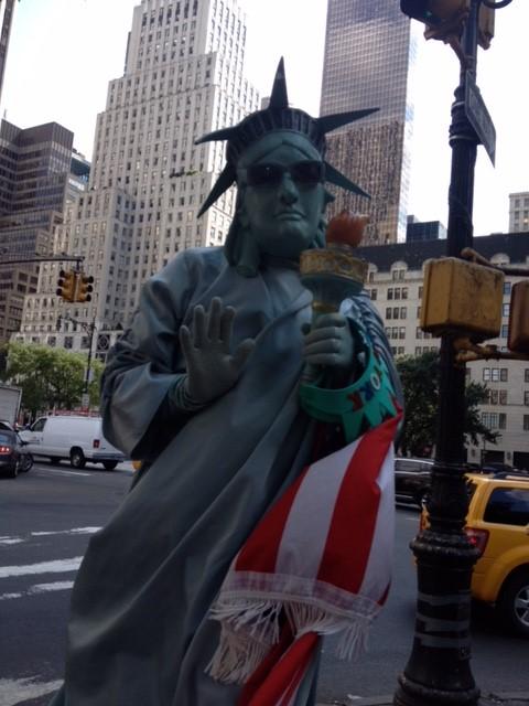NY自由の女神